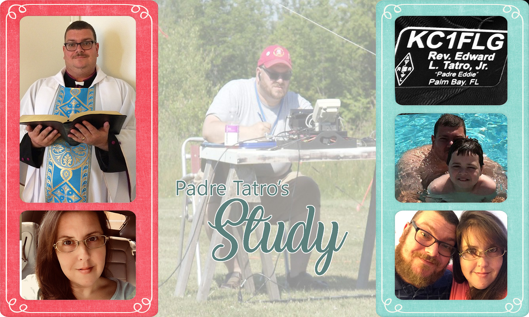 Padre Tatro's Study